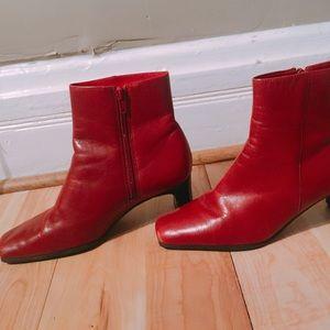 Squared Toe Heels